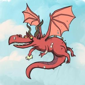 Inktober '19 - Dragon